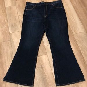 American Eagle Highest Rise Flare Jeans 22 LONG